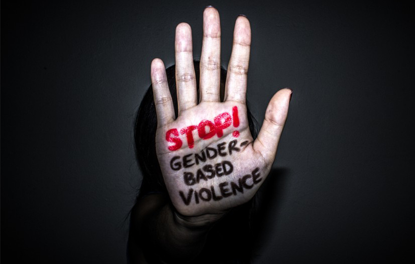 SAY NO TO GENDER BASED VIOLENCE. WOMEN'S RIGHTS ARE HUMAN RIGHTS